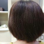 施術事例:ボブスタイルの縮毛矯正
